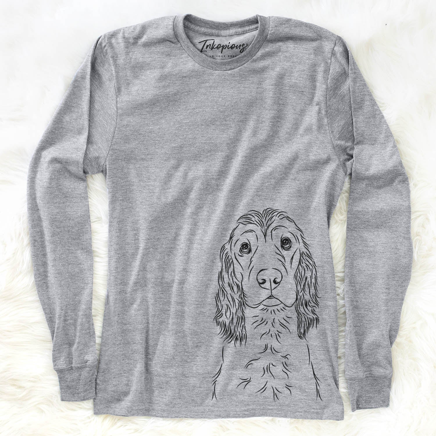 Logan the Cocker Spaniel - Long Sleeve Crewneck