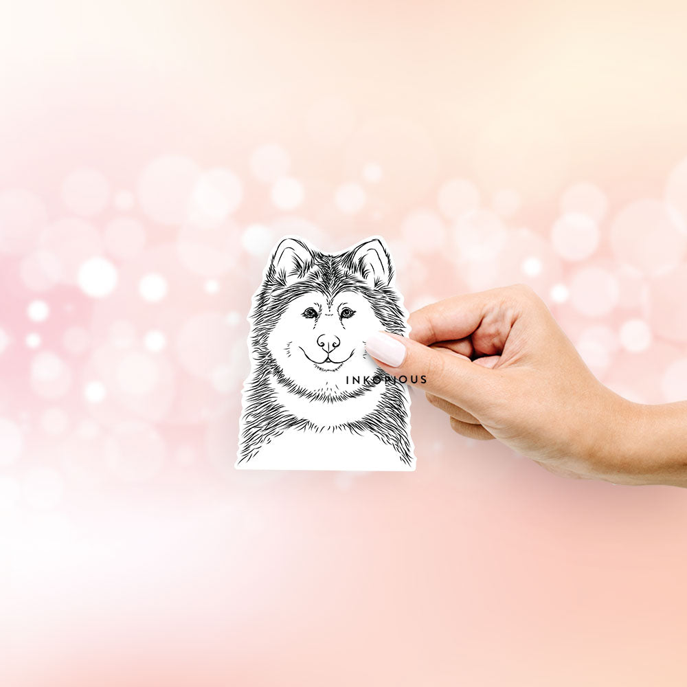 Loki the Malamute - Decal Sticker