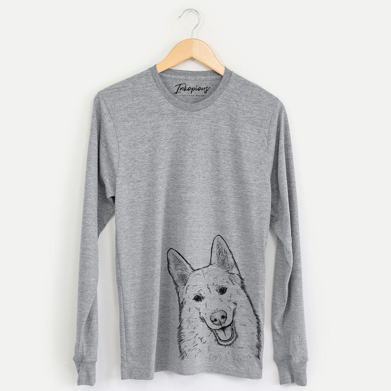 Loki the Husky Shepherd Mix - Long Sleeve Crewneck