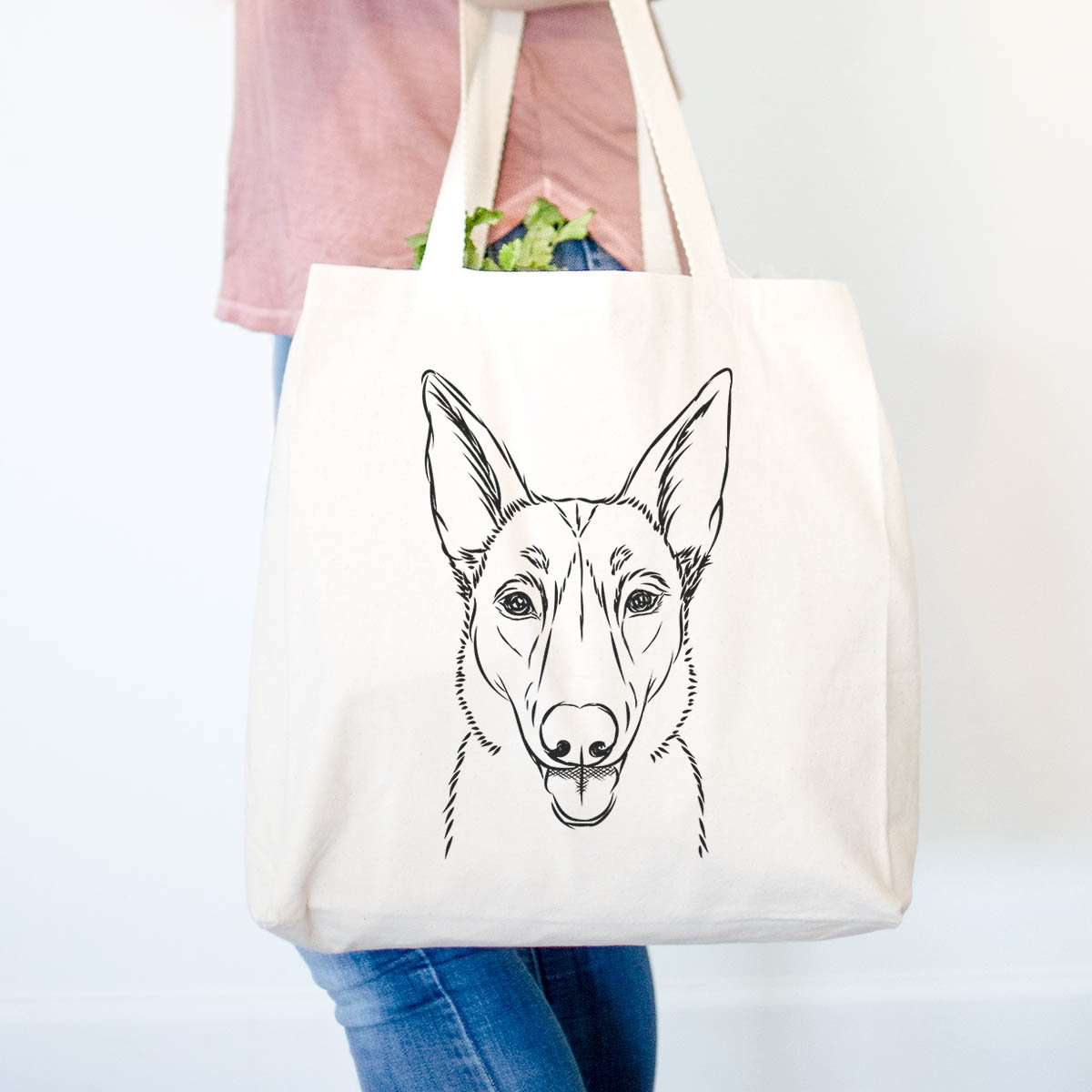 Lyric the Belgian Malinois - Tote Bag