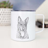 Madison the Blue Heeler - 14oz Metal Mug