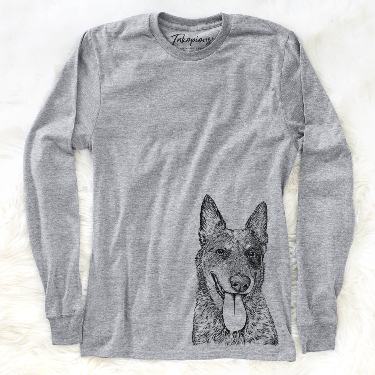Madison the Blue Heeler - Long Sleeve Crewneck