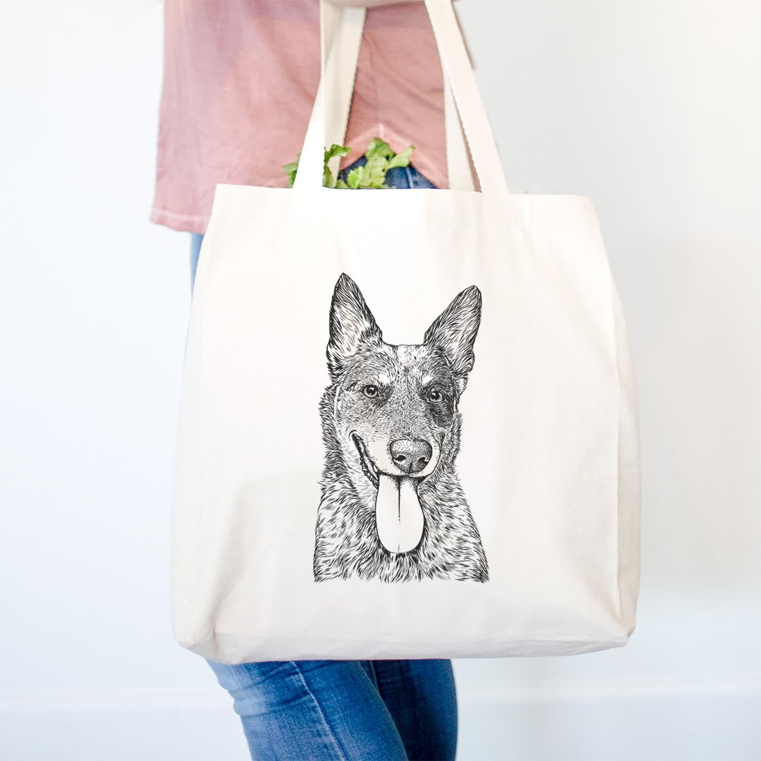 Madison the Blue Heeler - Tote Bag