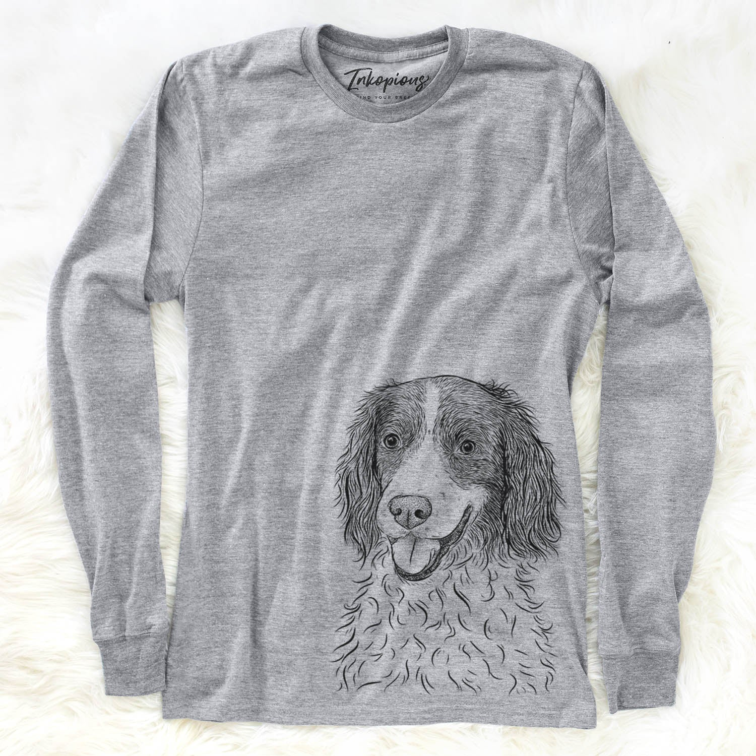 Maggie the English Springer Spaniel - Long Sleeve Crewneck