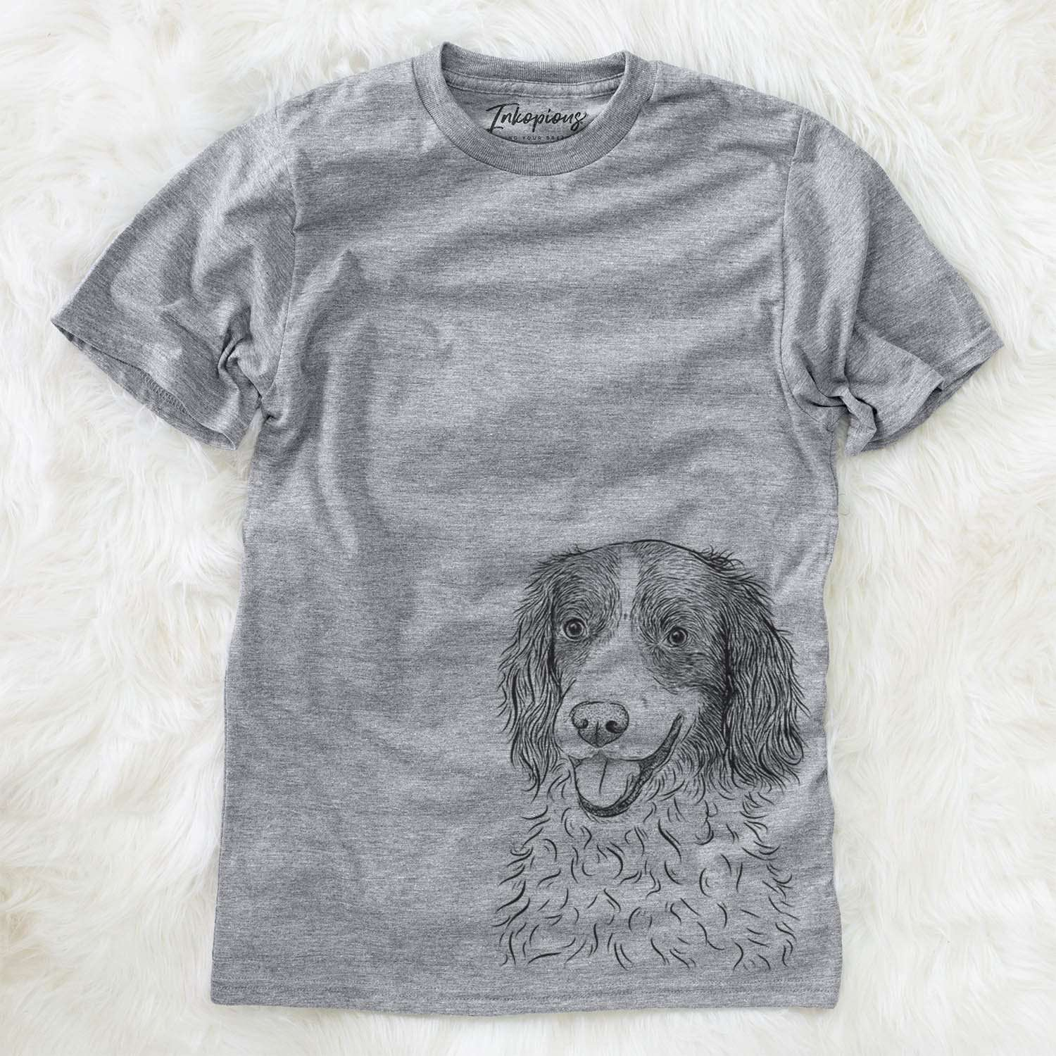 Maggie the English Springer Spaniel - Unisex Crewneck