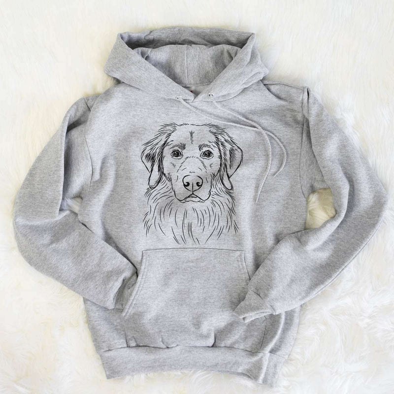 Marley the Golden Retriever - Mens Hooded Sweatshirt
