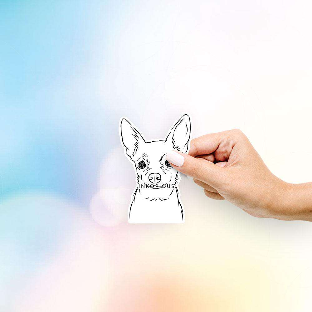 Martini the Chihuahua - Decal Sticker