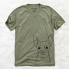 Martini the Chihuahua - Unisex V-Neck Shirt