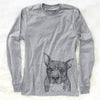 Mercy the Pitbull - Long Sleeve Crewneck