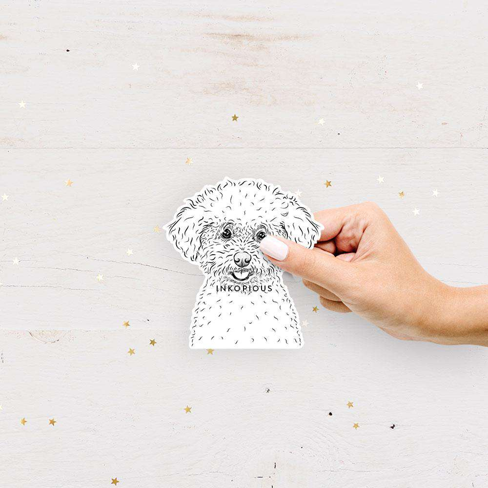 Mickey the Bichon Frise - Decal Sticker
