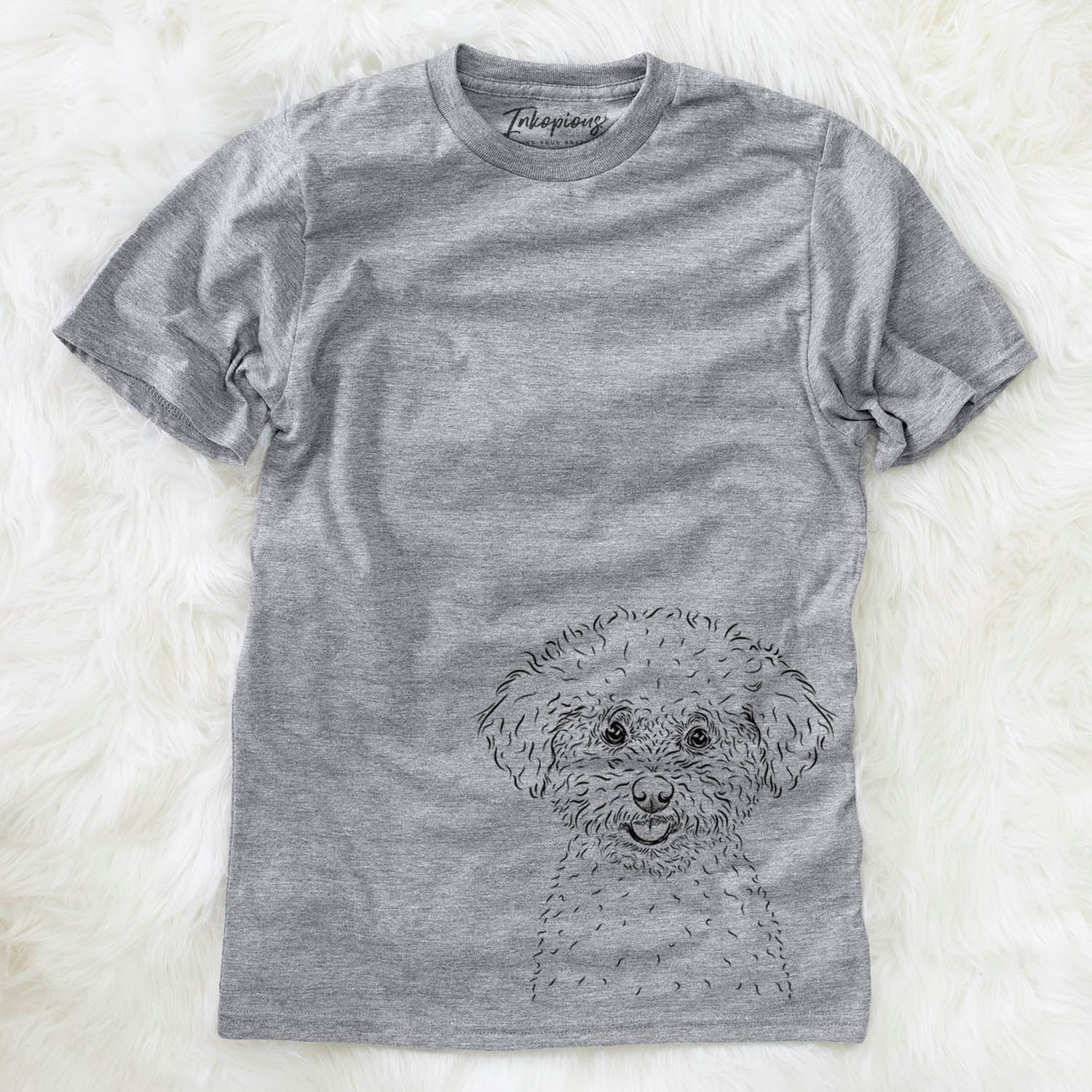 Mickey the Bichon Frise - Unisex Crewneck