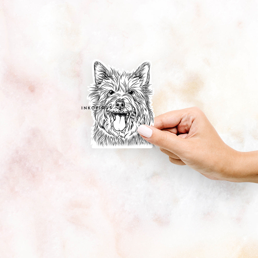 Middy the Australian Terrier - Decal Sticker