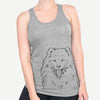 Mikko the Samoyed - Racerback Tank Top