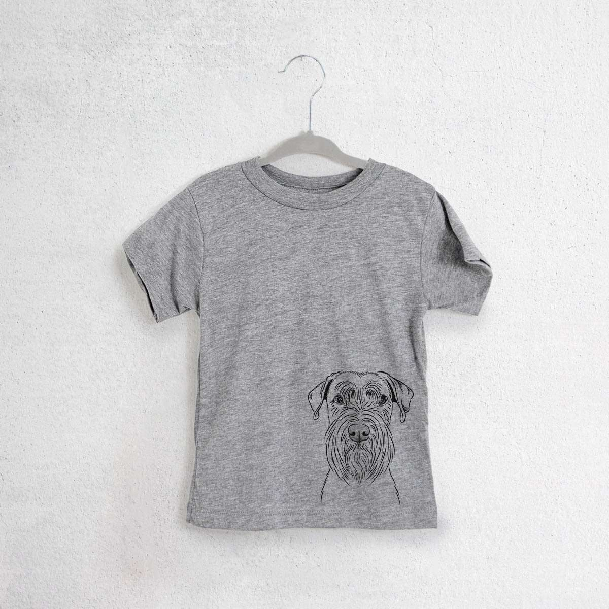 Milton the Standard Schnauzer - Kids/Youth/Toddler Shirt