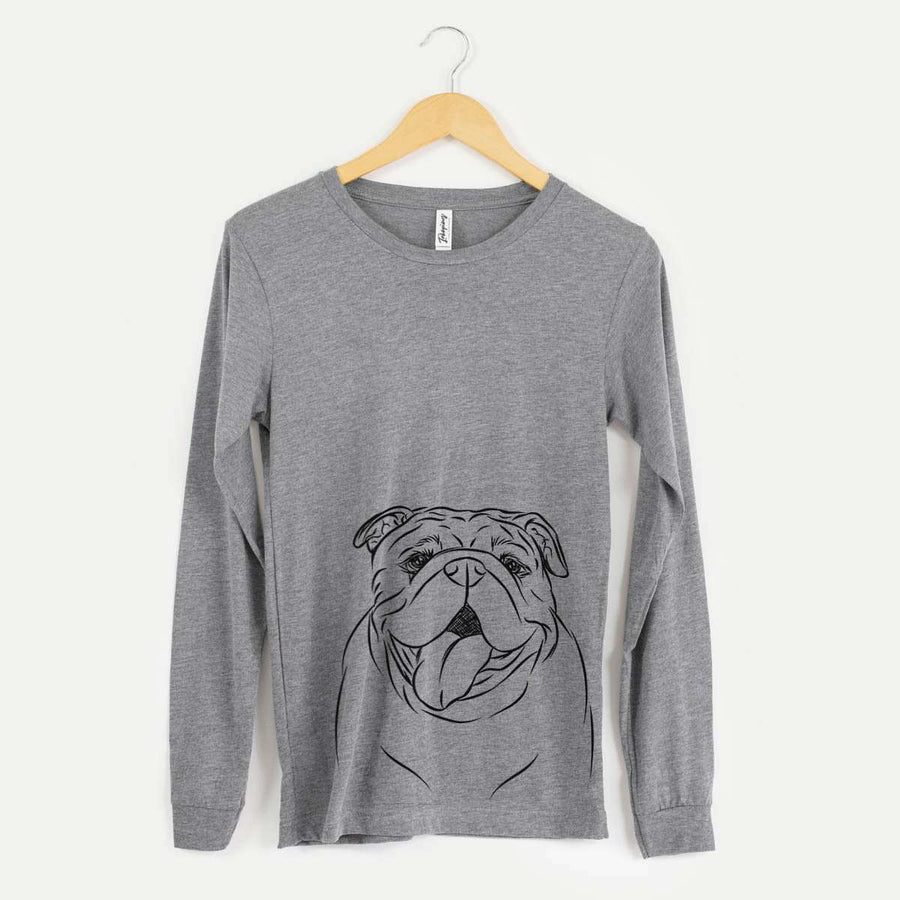 MissyMoo the English Bulldog - Long Sleeve Crewneck