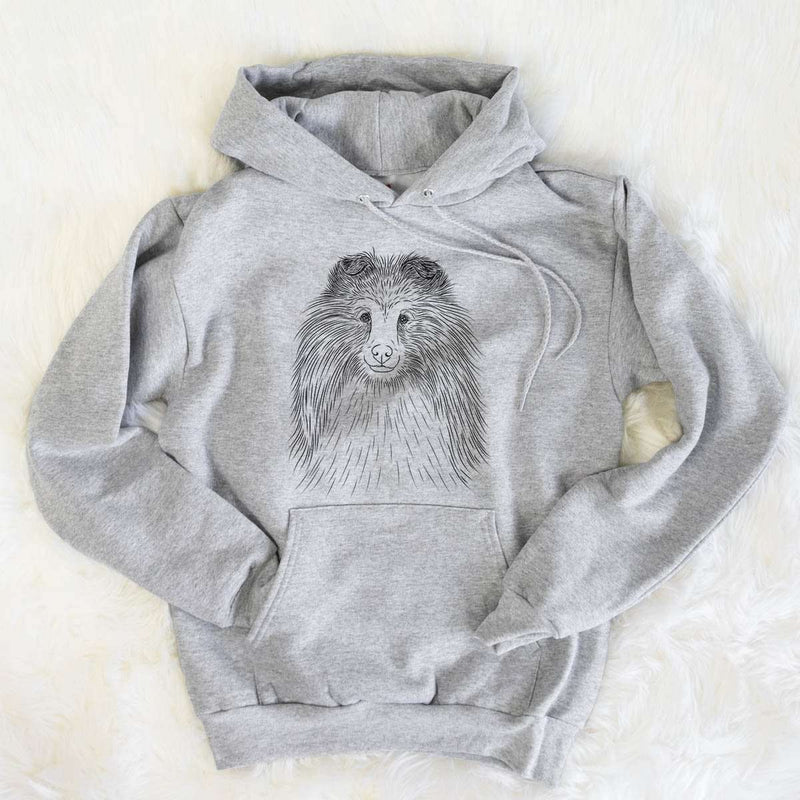 Moxie the Shetland Sheepdog - Mens Hooded Sweatshirt