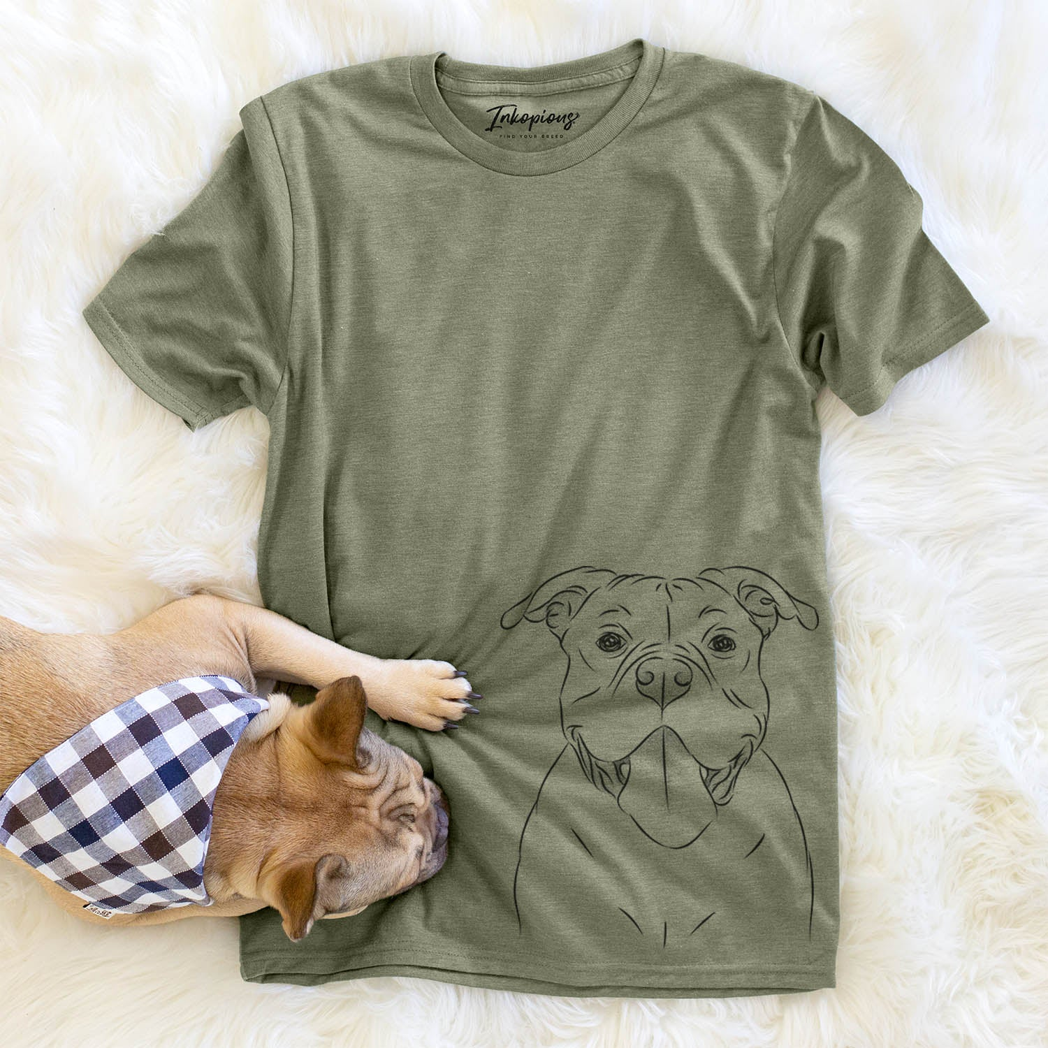 Nacho the American Bully - Unisex Crewneck