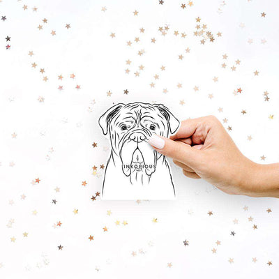 Nolan the Bull Mastiff - Decal Sticker