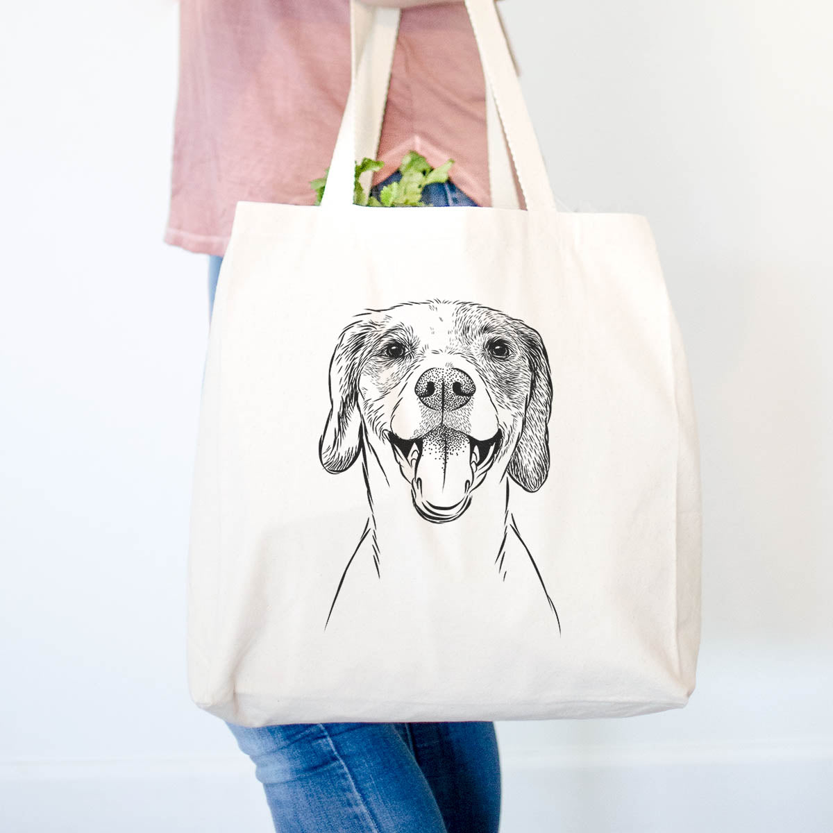 Obi the Beagle Mix - Tote Bag