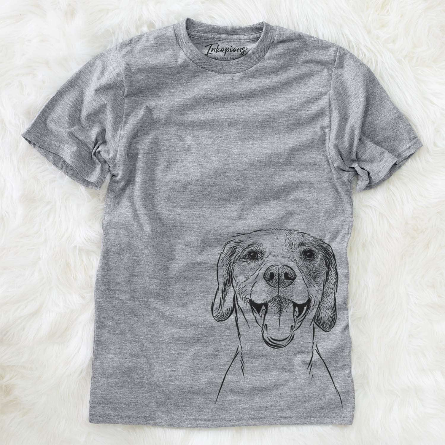 Obi the Beagle Mix - Unisex Crewneck