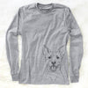 Orange the Carolina Dog - Long Sleeve Crewneck
