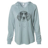 Orin the Treeing Walker Coonhound - Cali Wave Hooded Sweatshirt