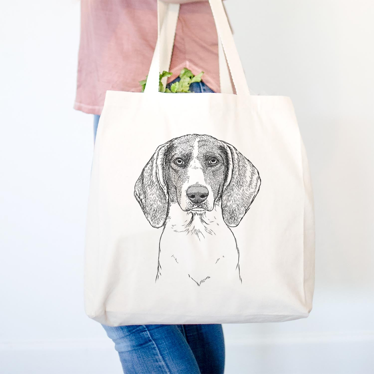 Orin the Treeing Walker Coonhound - Tote Bag