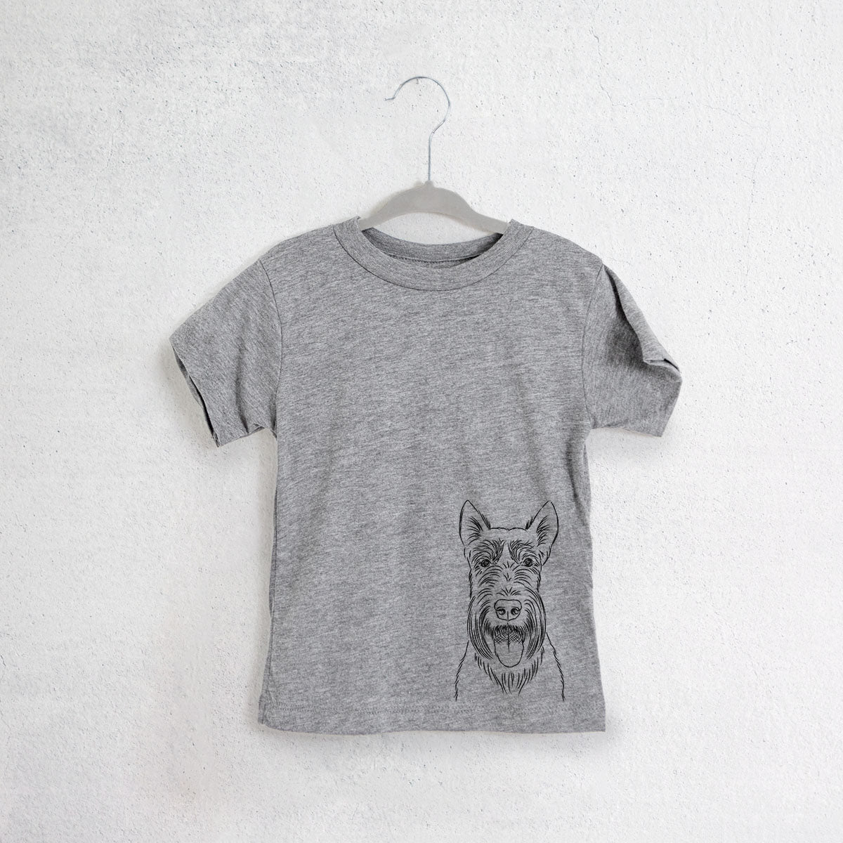 Oswald the Scottish Terrier - Kids/Youth/Toddler Shirt