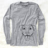 Parker the Pitbull - Long Sleeve Crewneck