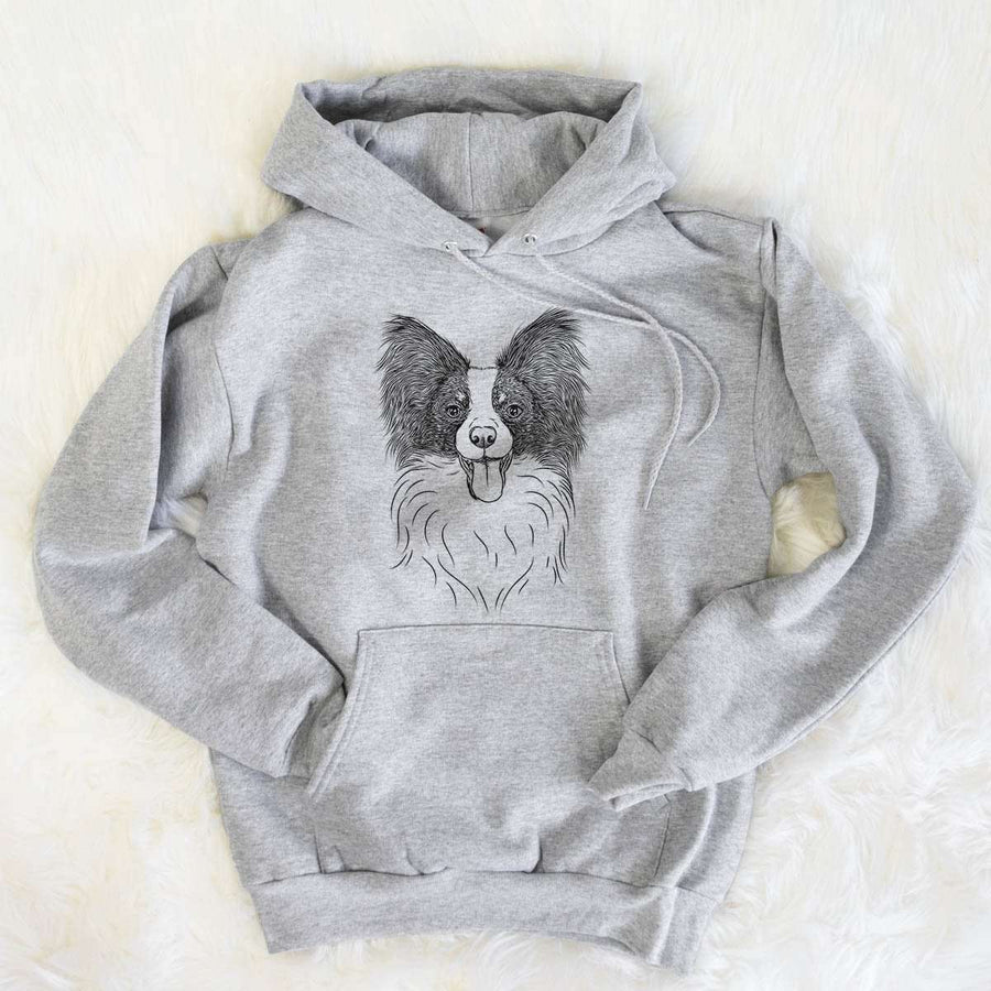 Patrick the Papillon - Mens Hooded Sweatshirt