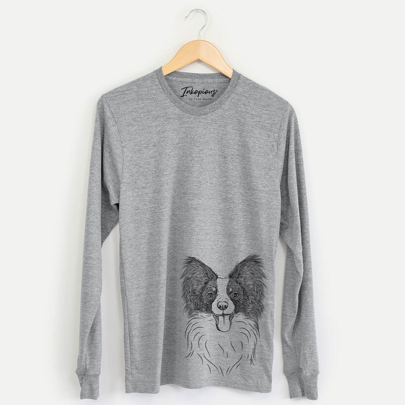 Patrick the Papillon - Long Sleeve Crewneck