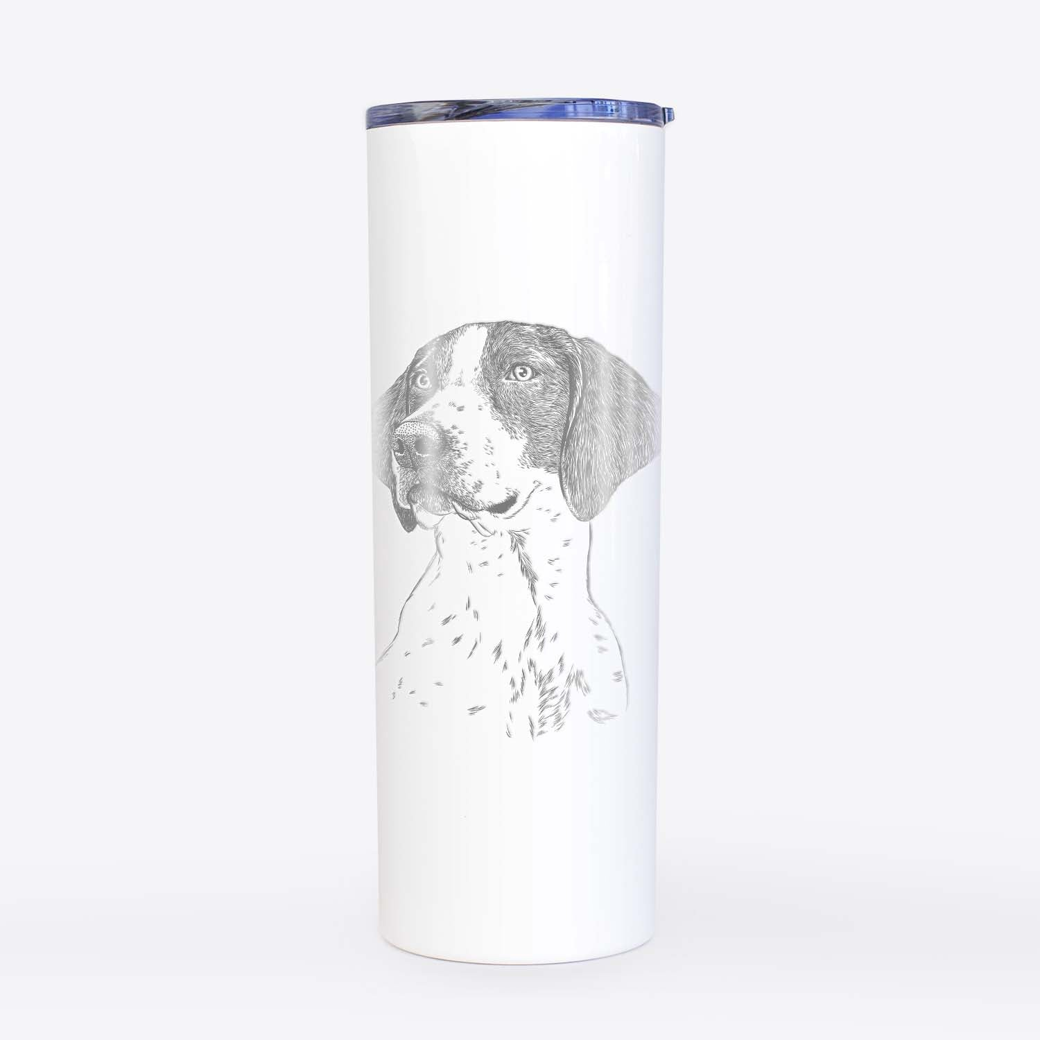 Payton the Mixed Breed - 20oz Skinny Tumbler