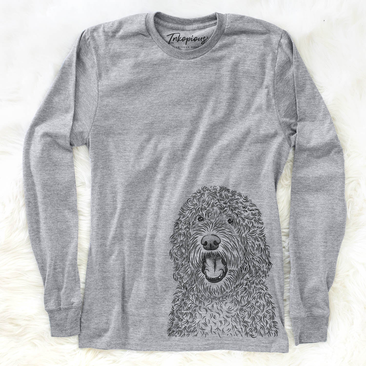 Phillip the Portuguese Water Dog - Long Sleeve Crewneck