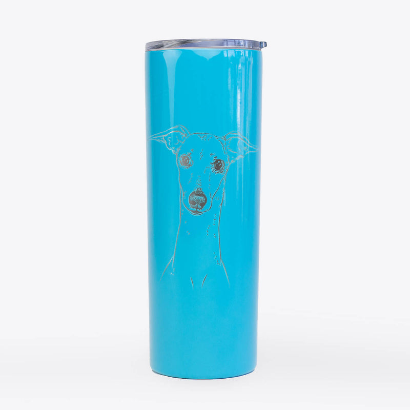 Pip the Italian Greyhound - 20oz Skinny Tumbler