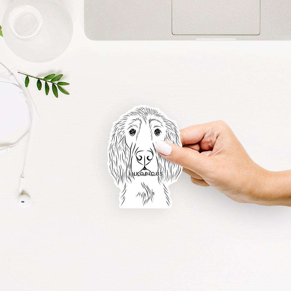 Piper the Irish Setter - Decal Sticker