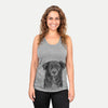Pixel the Australian Shepherd - Racerback Tank Top