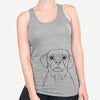 Popcorn the Puggle - Racerback Tank Top