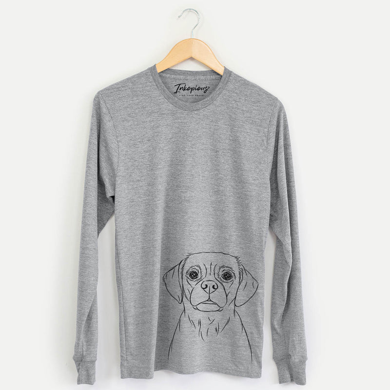Popcorn the Puggle - Long Sleeve Crewneck