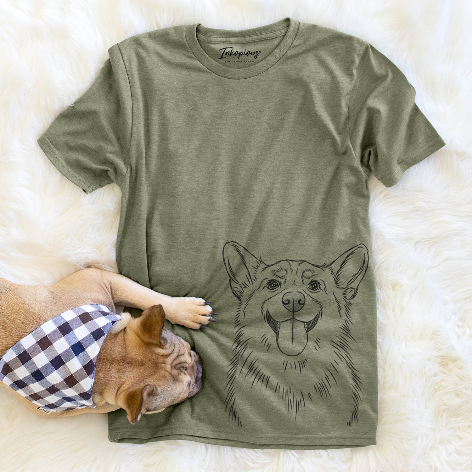 Porter the Pembroke Welsh Corgi - Unisex Crewneck