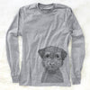 Pretzel the Schnoodle - Long Sleeve Crewneck