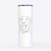 Raisin the Flat Coated Retriever - 20oz Skinny Tumbler
