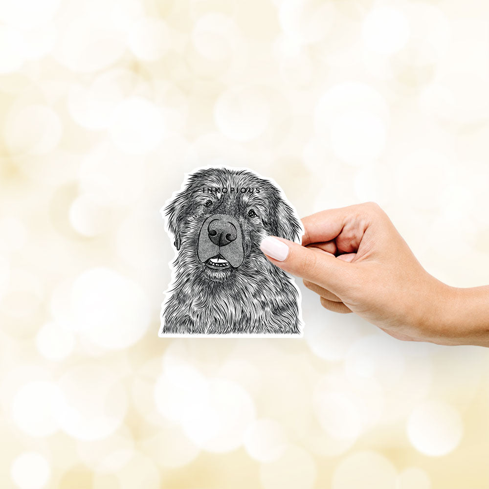 Ralph the Leonberger - Decal Sticker