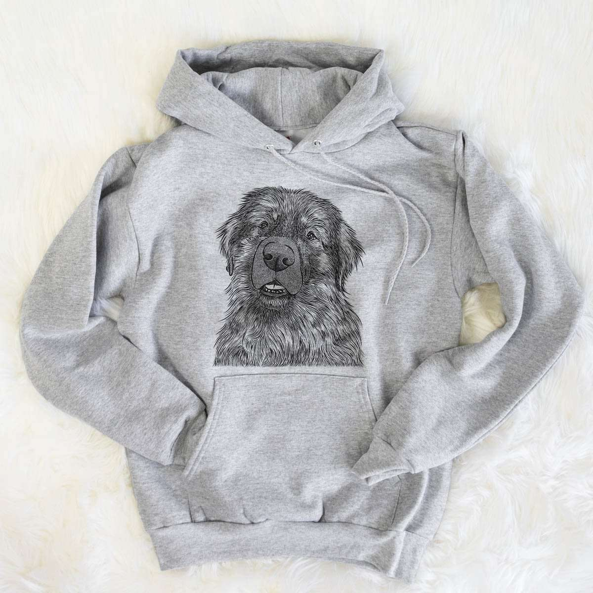 Ralph the Leonberger - Mens Hooded Sweatshirt