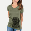 Ralph the Leonberger - Women's Modern Fit V-neck Shirt