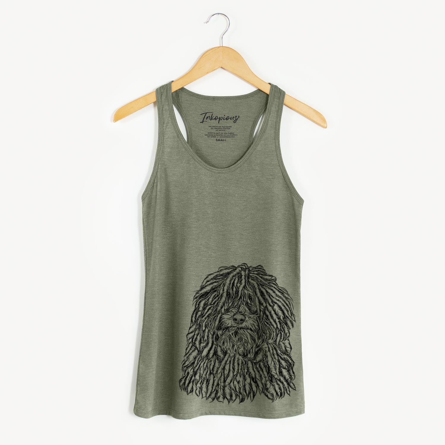 Rezi the Puli - Racerback Tank Top