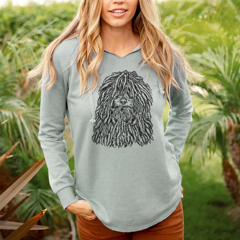 Rezi the Puli - Cali Wave Hooded Sweatshirt