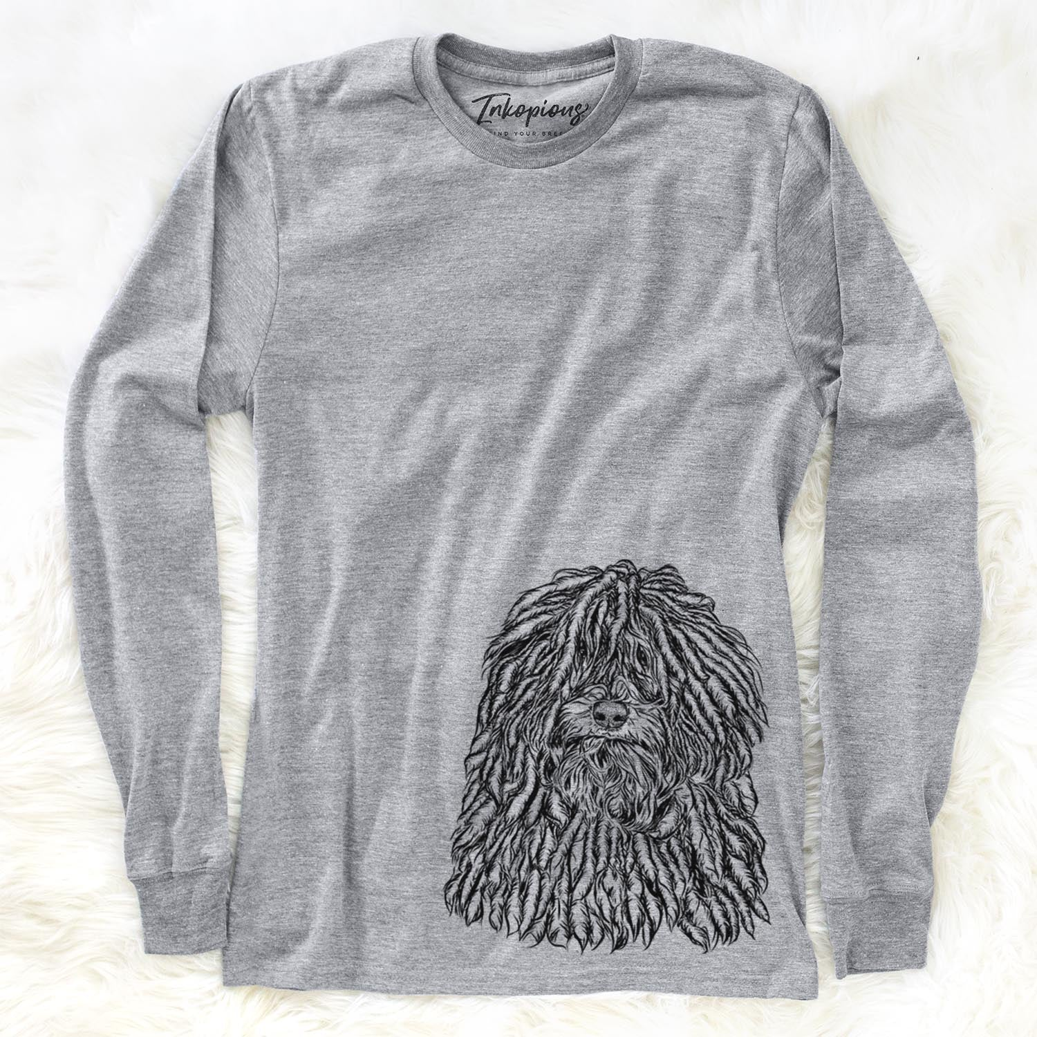 Rezi the Puli - Long Sleeve Crewneck