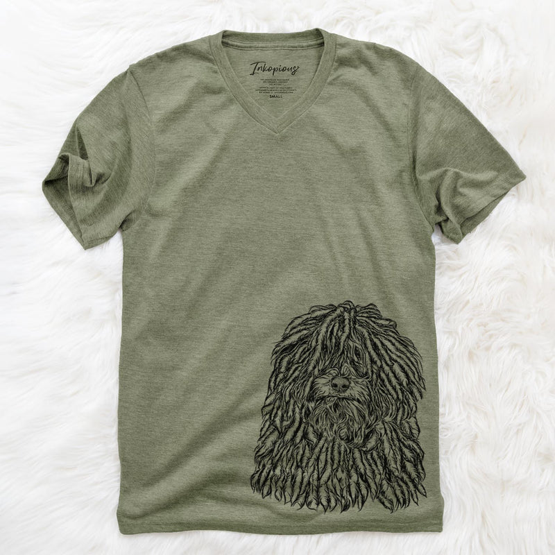 Rezi the Puli - Unisex V-Neck Shirt