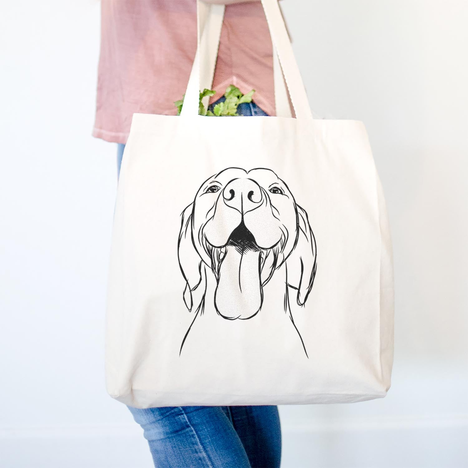 Rhys the Vizsla - Tote Bag