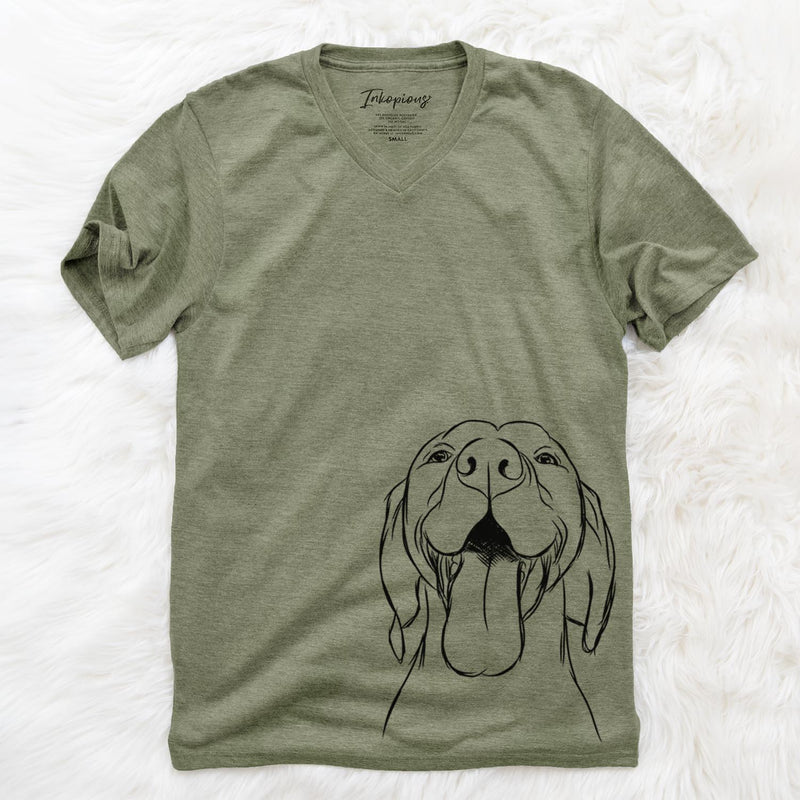 Rhys the Vizsla - Unisex V-Neck Shirt